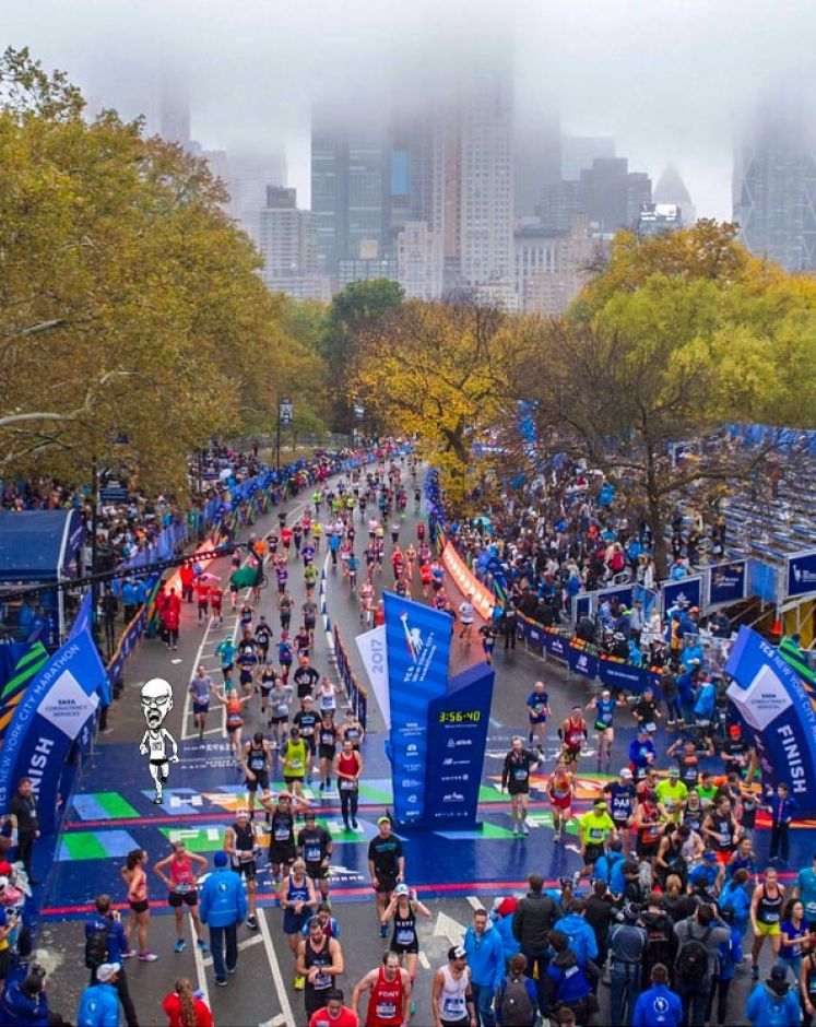 FELICITA' ALLA NEW YORK CITY MARATHON
